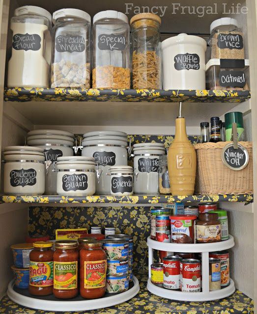 3 Tips To Organizing Your Pantry