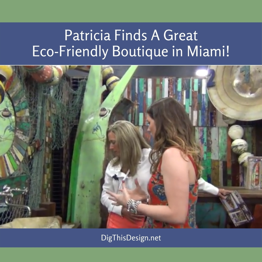Patricia Finds A Great Eco-Friendly Boutique in Miami