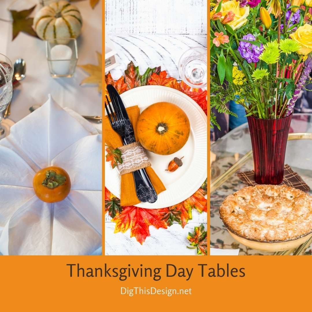 Thanksgiving Day Tables