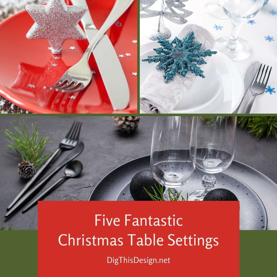 Christmas Table Settings