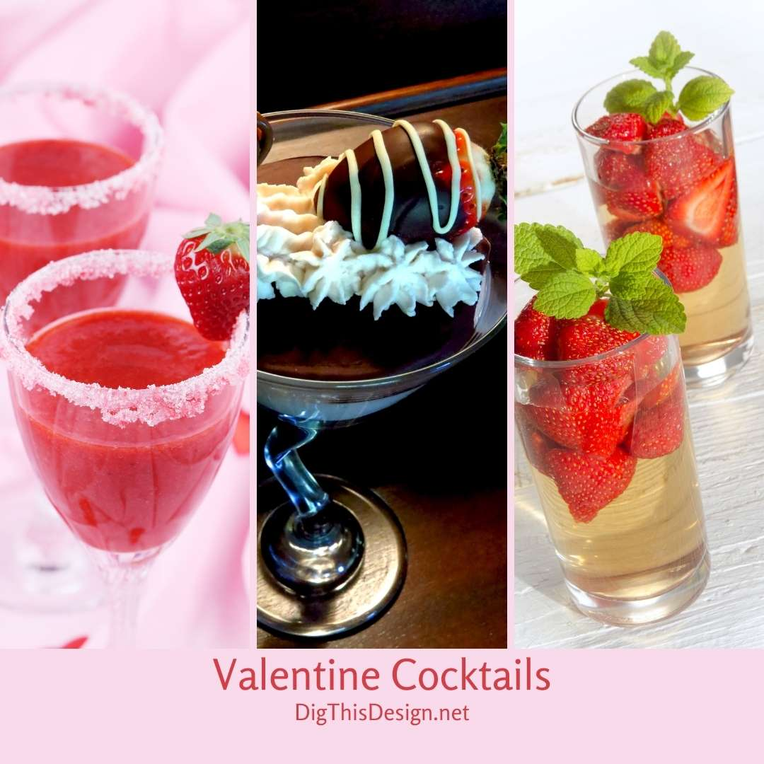 Valentine Cocktails