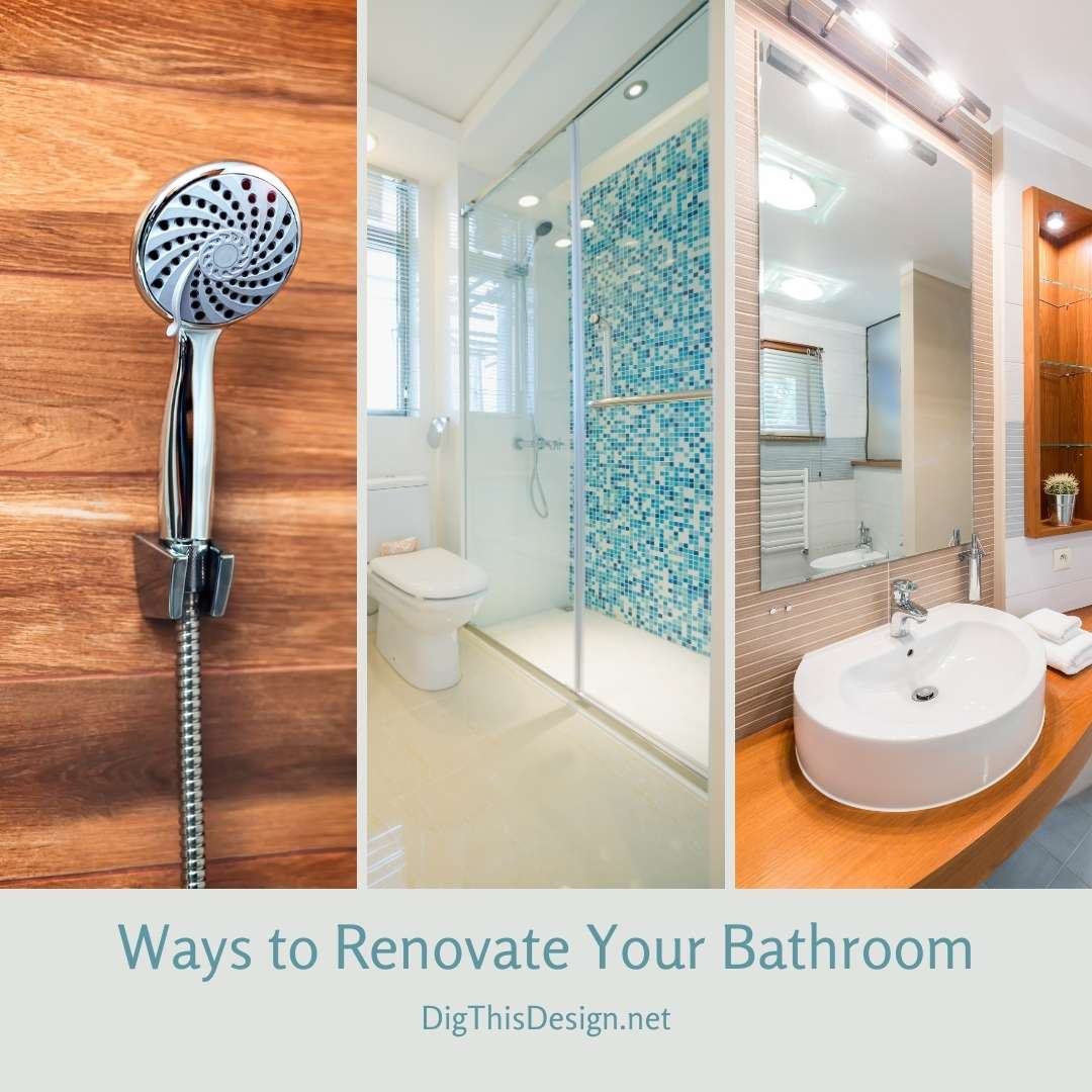 Ways to Renovate Your Bathroom