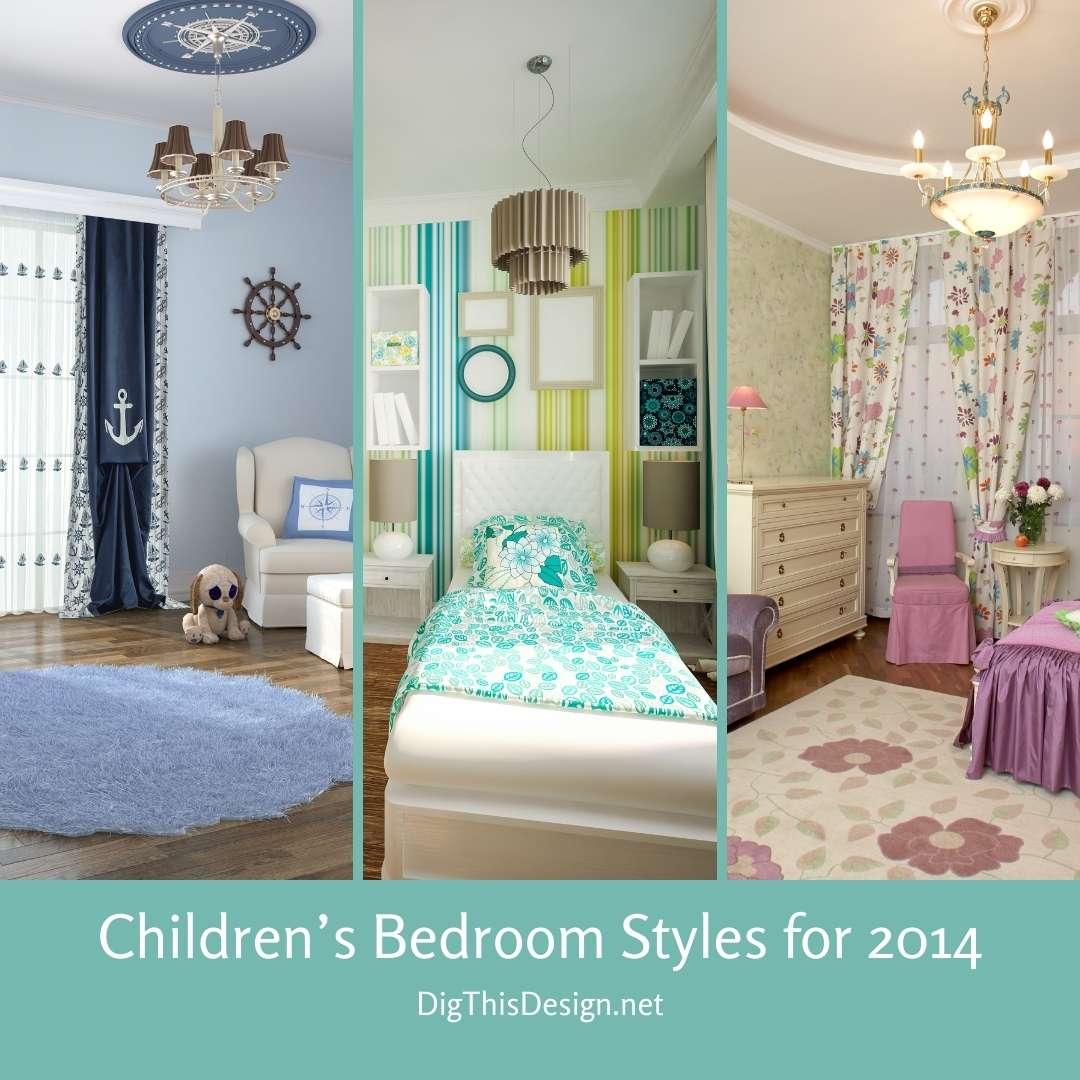 Children's Bedroom Styles for 2014