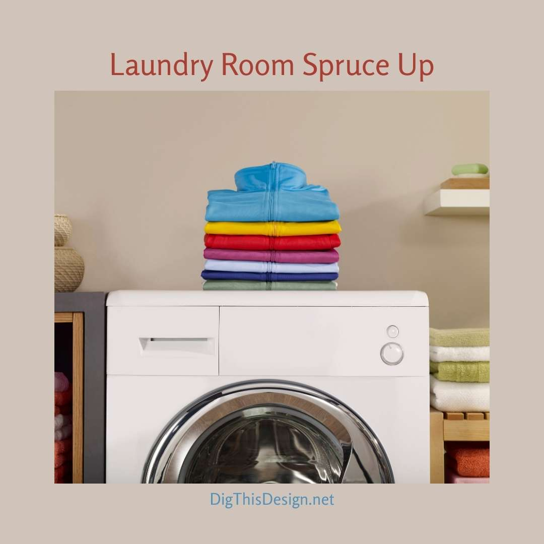 Laundry Room Spruce Up