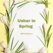 Usher in Spring