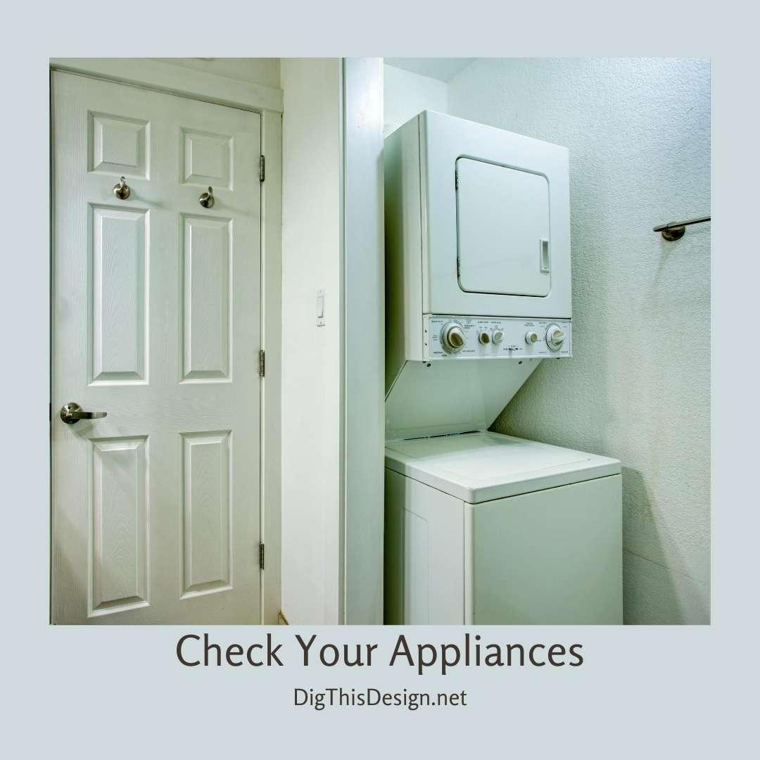 Check Your Appliances