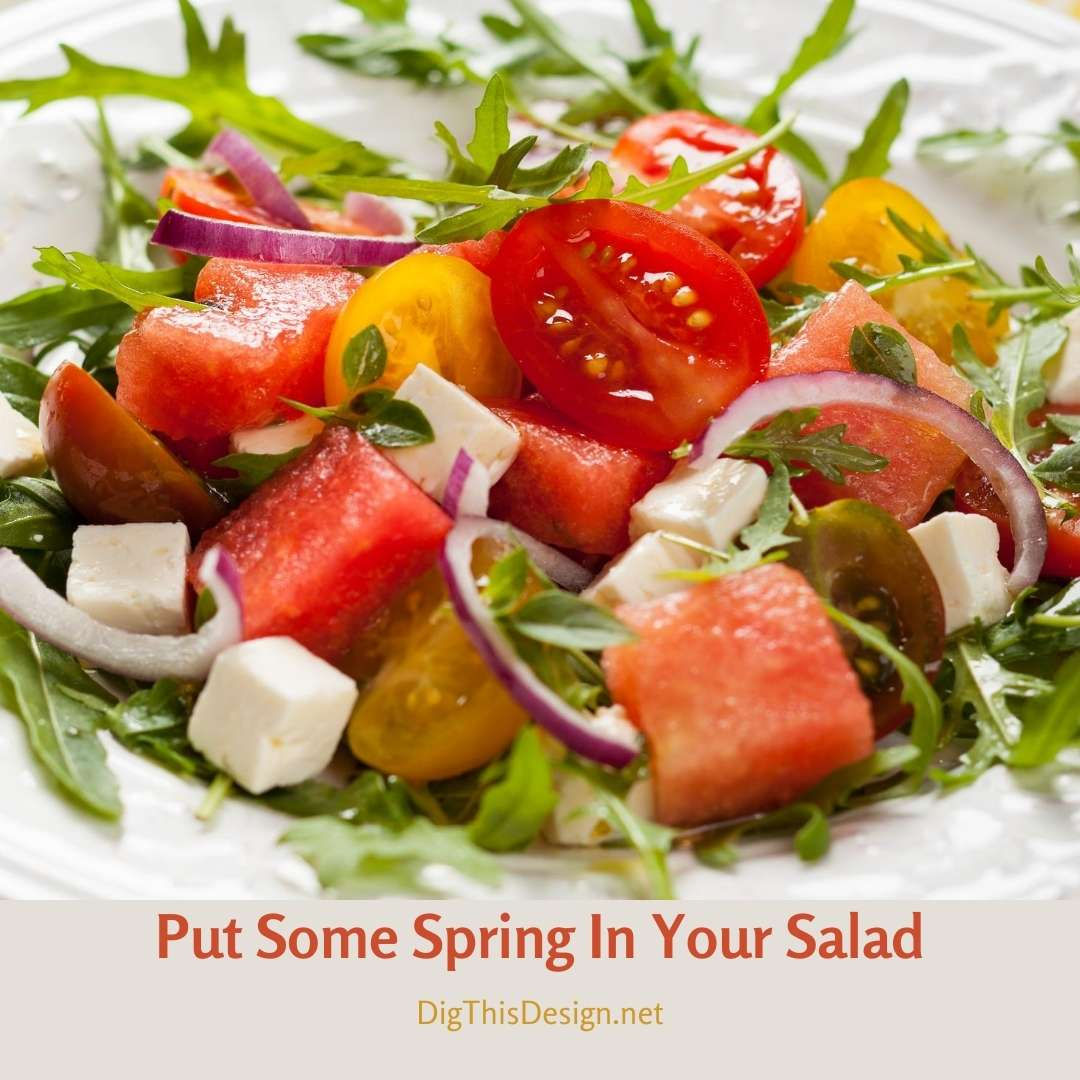 Put Some Spring In Your Salad