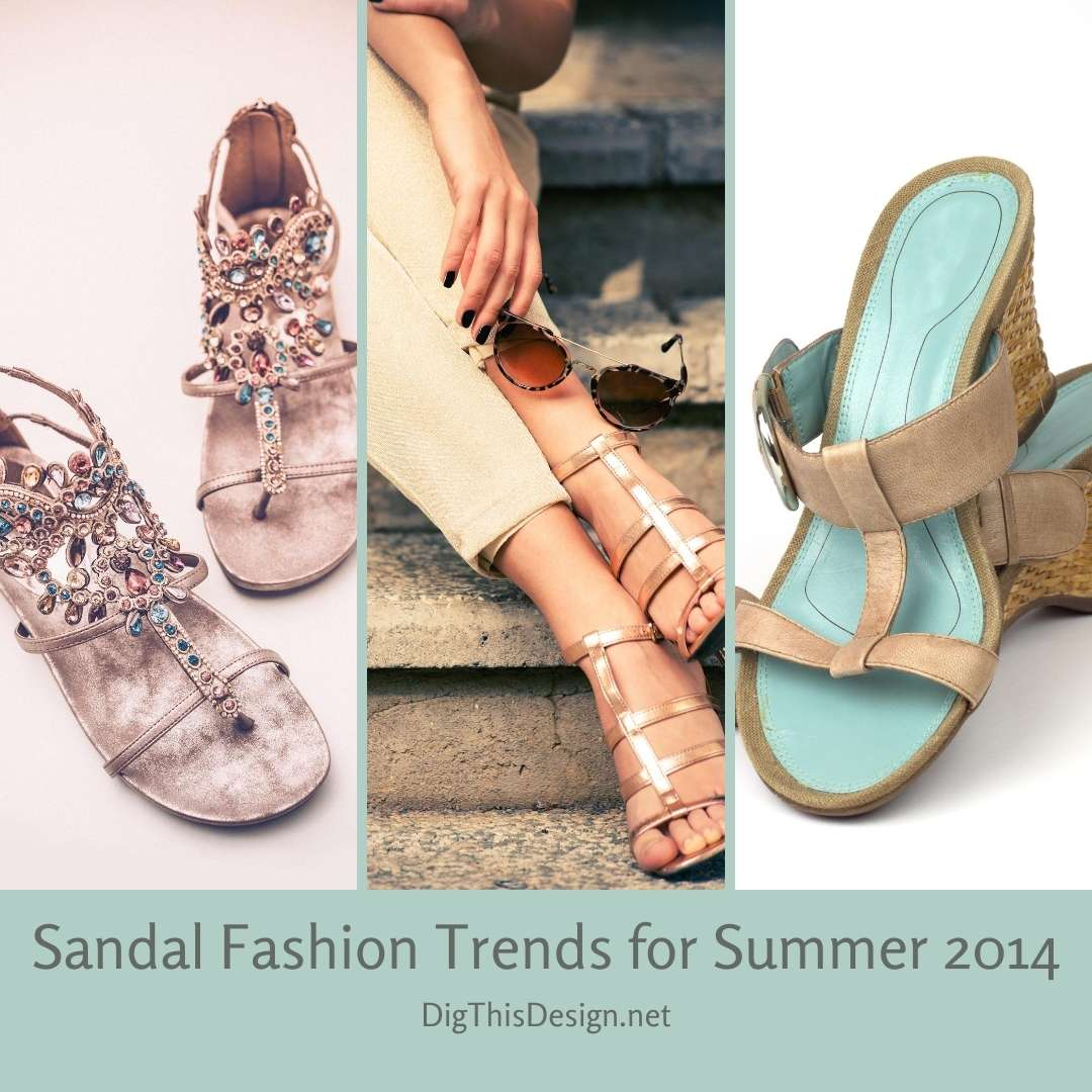 Sandal Fashion Trends for Summer 2014