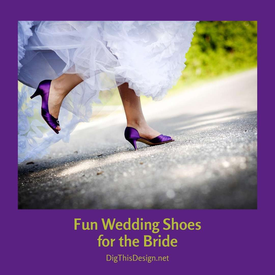 Fun Wedding Shoes for the Bride