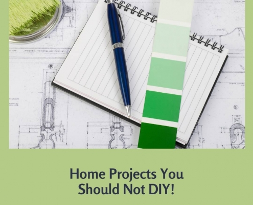 Home Projects You Should Not DIY!