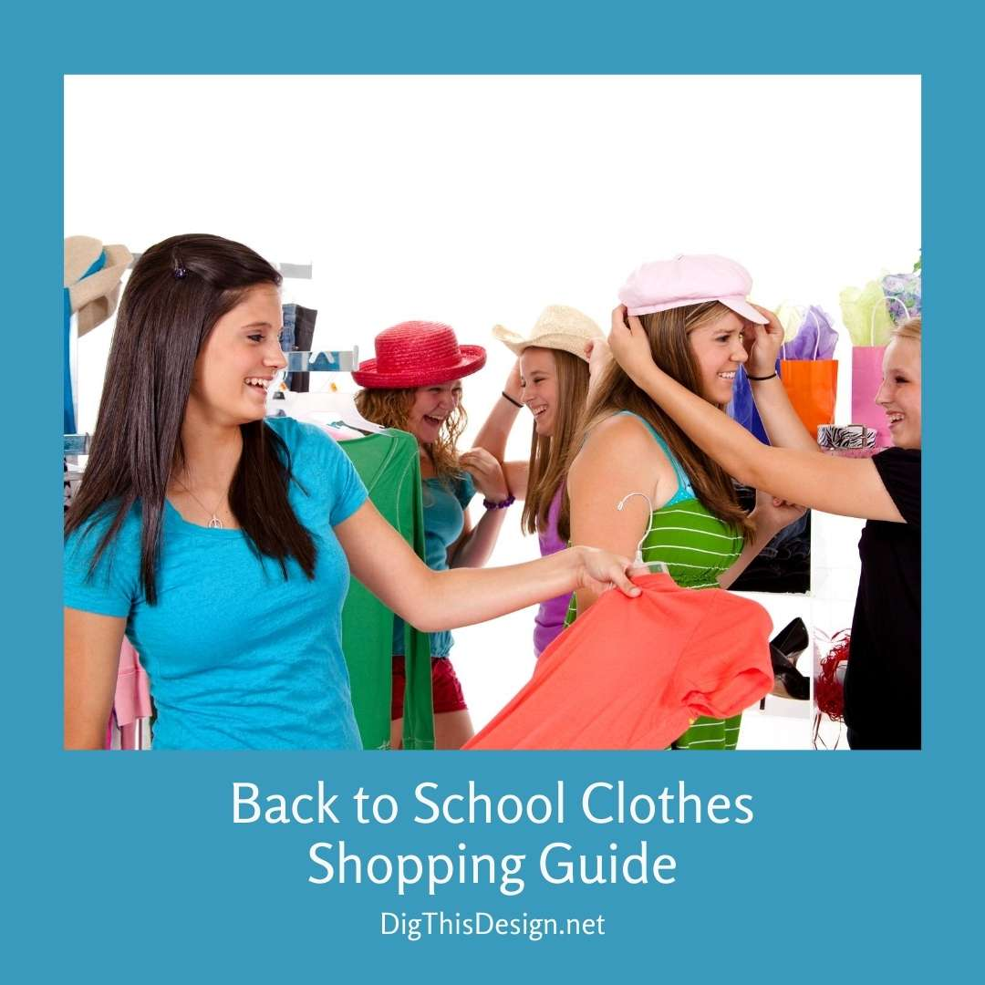 Back to School Clothes Shopping Guide