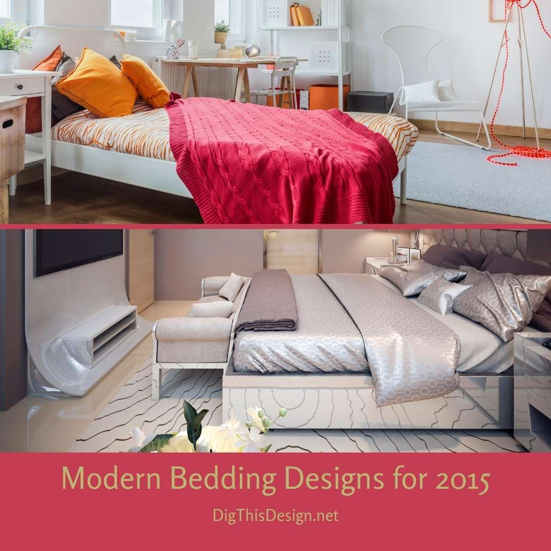 Modern Bedding Designs for 2015