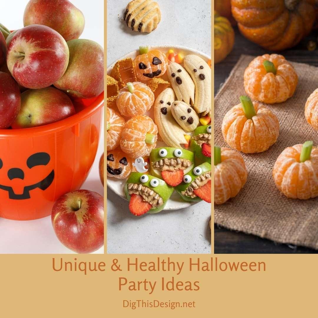 Unique & Healthy Halloween Party Ideas