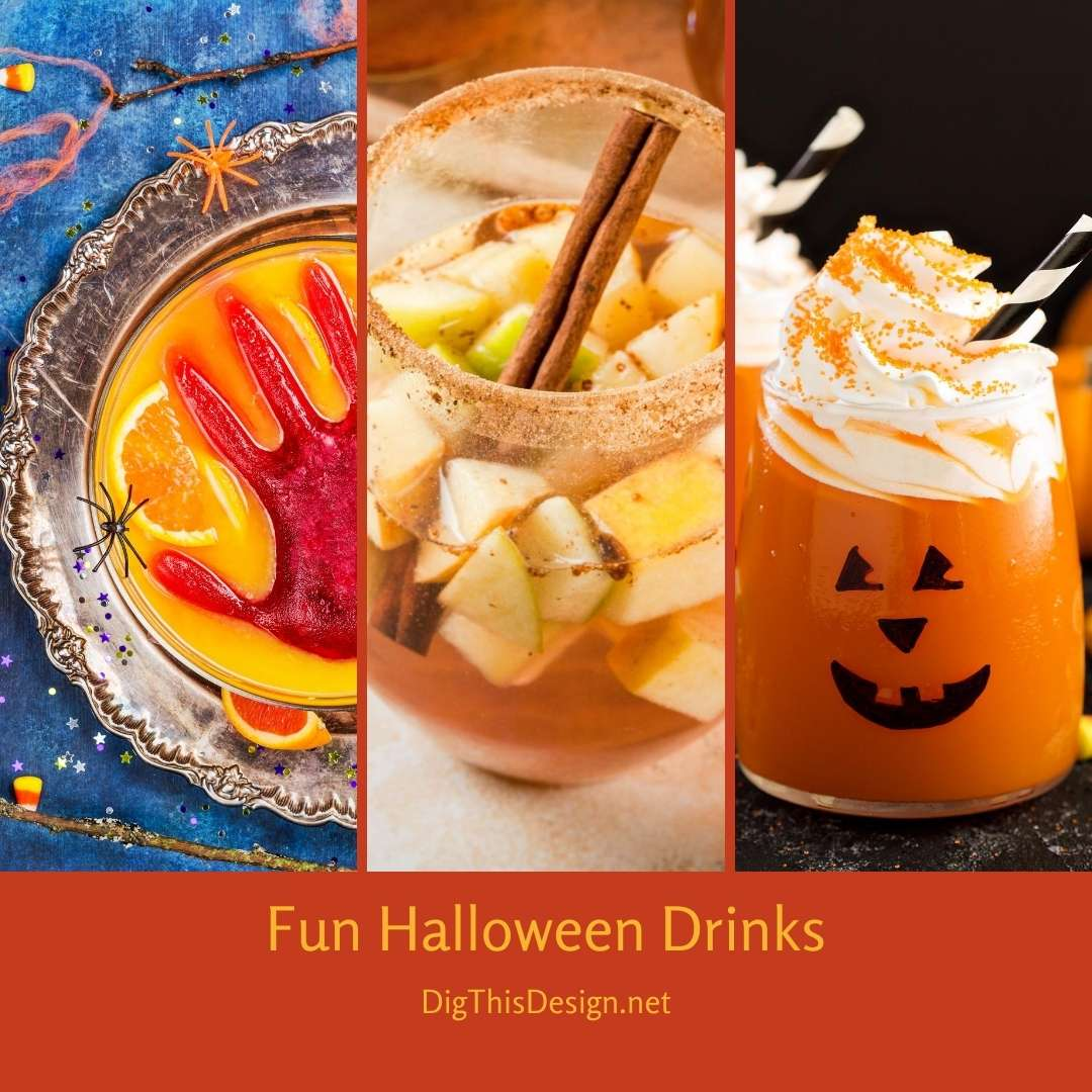 Fun Halloween Drinks For Your Next Party