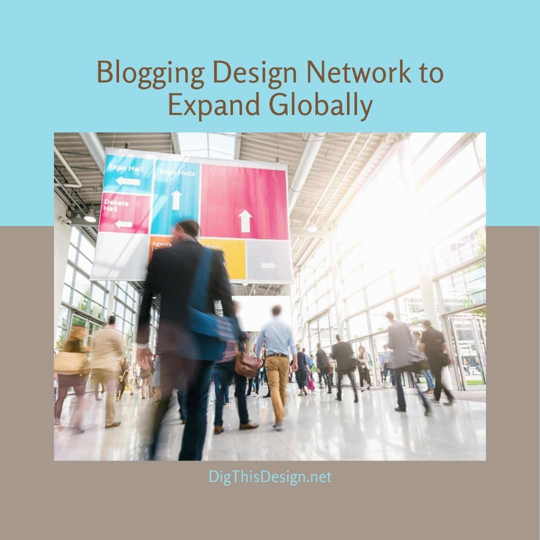 Blogging Design Network to Expand Globally