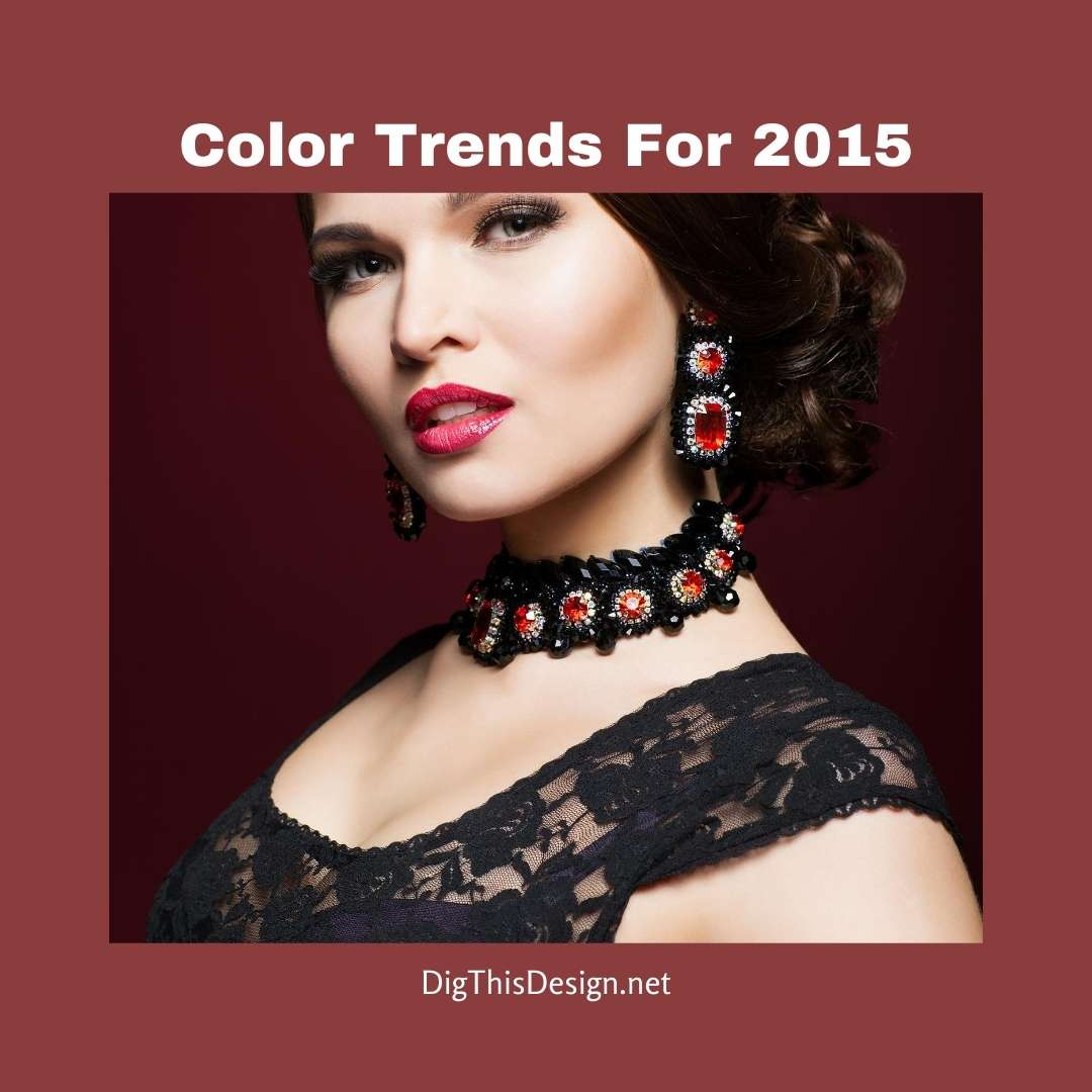 Color Trends For 2015 - Marsala