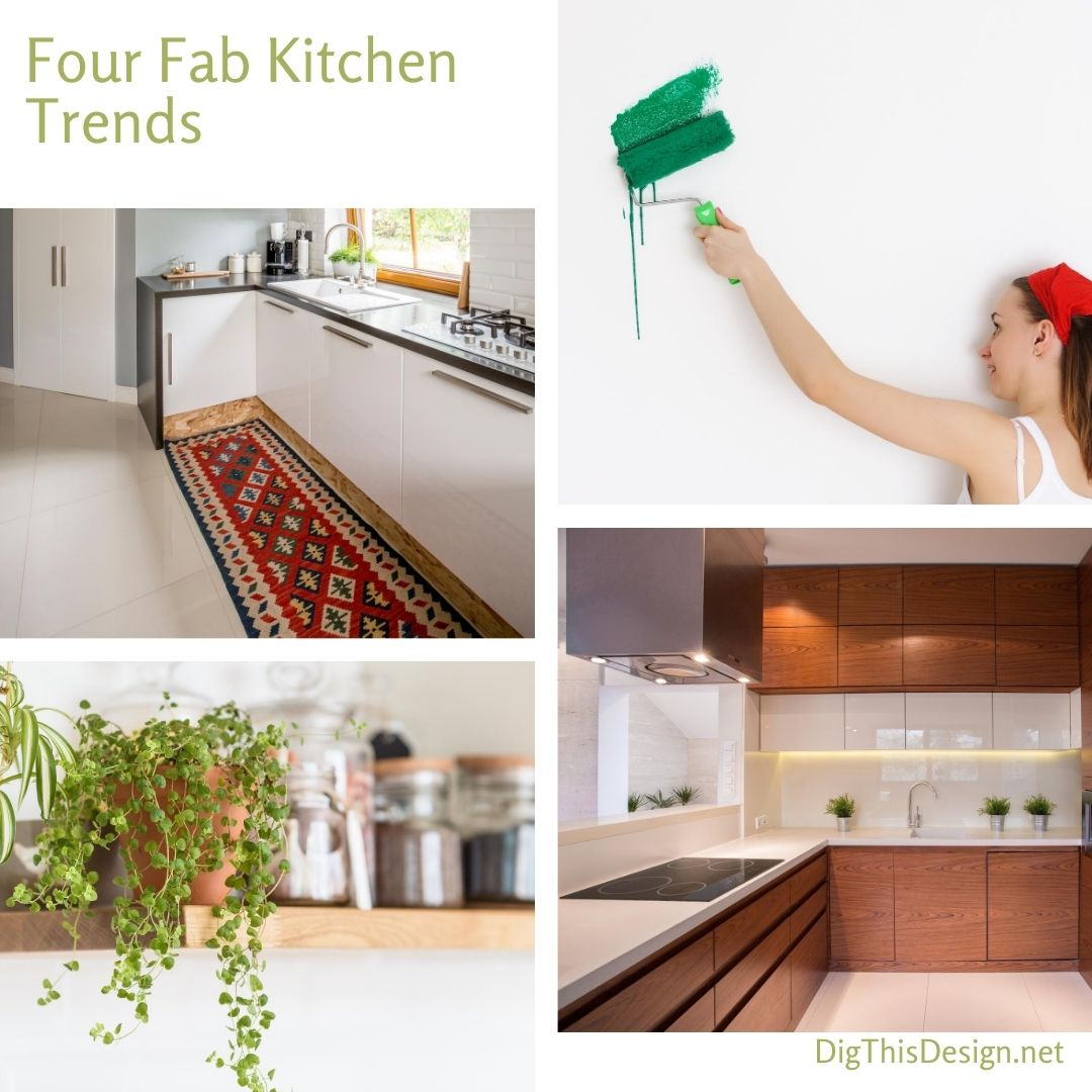 Four Fab Kitchen Trends