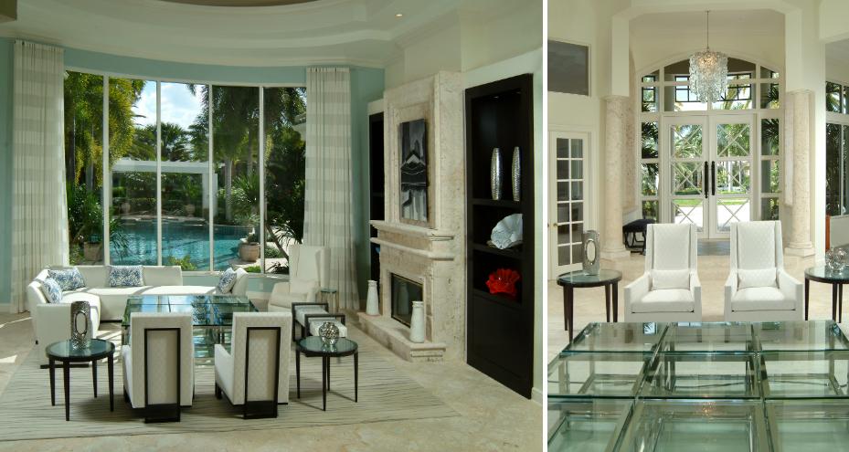 coastal florida modern interior luxury home design