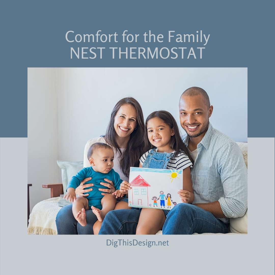 Diggin' This Design Nest Thermostat