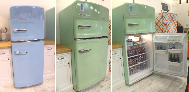 Big City brings pops of retro hues to the kitchen