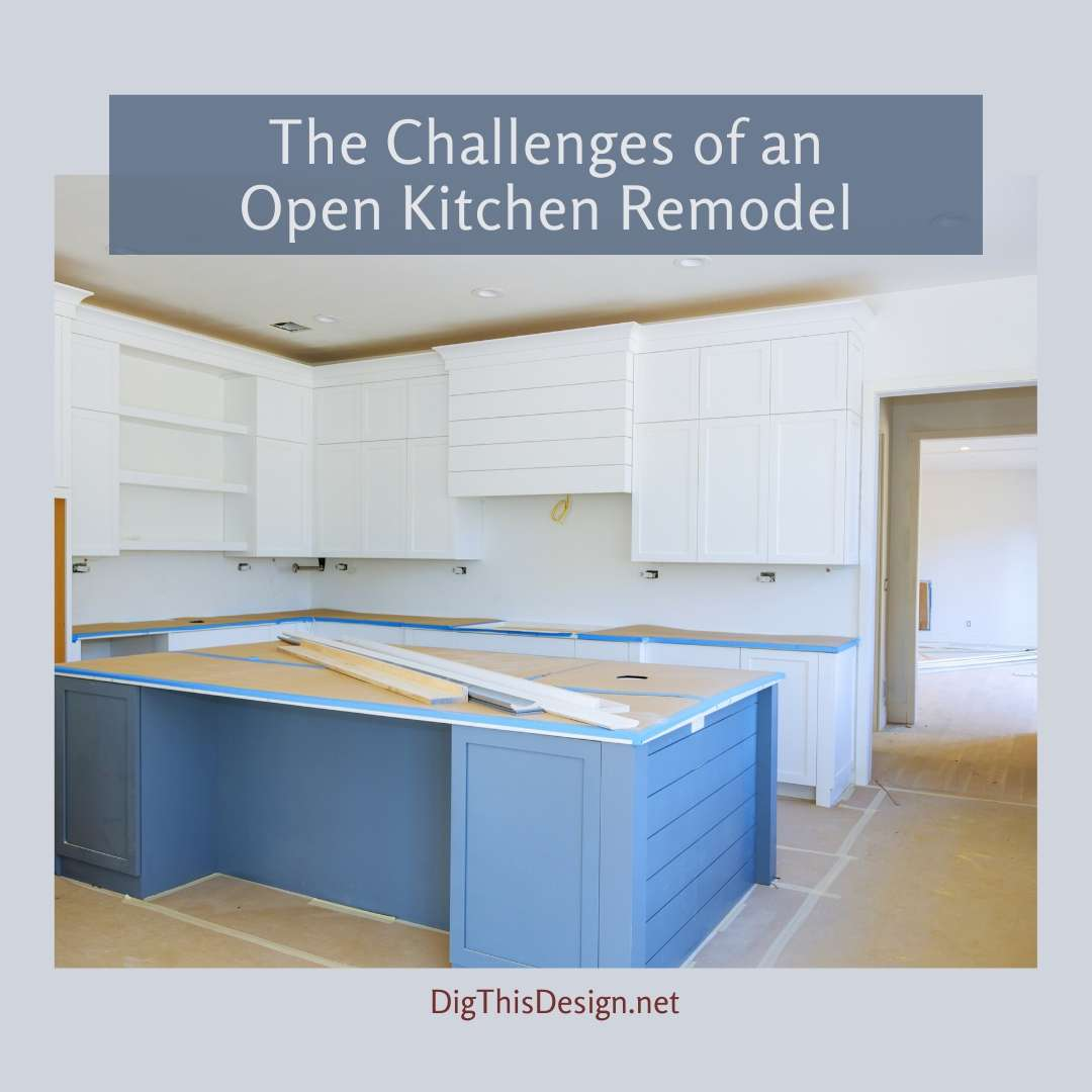 Open Kitchen Remodel