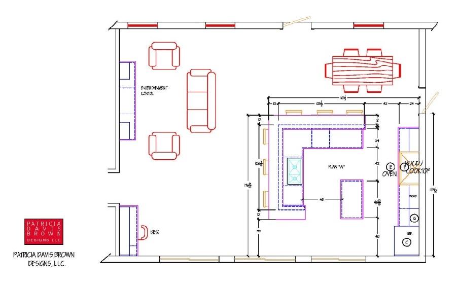 interior architecture kitchen layout island cabinet shape bar seating design