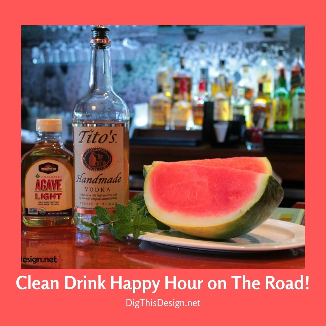 Clean Drink Happy Hour on The Road!