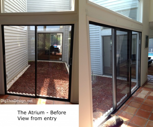 atrium before