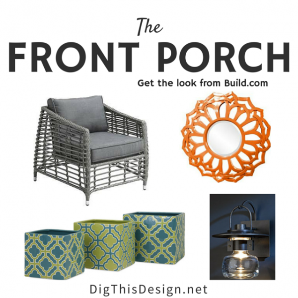Front porch inspiration collage from Build.com