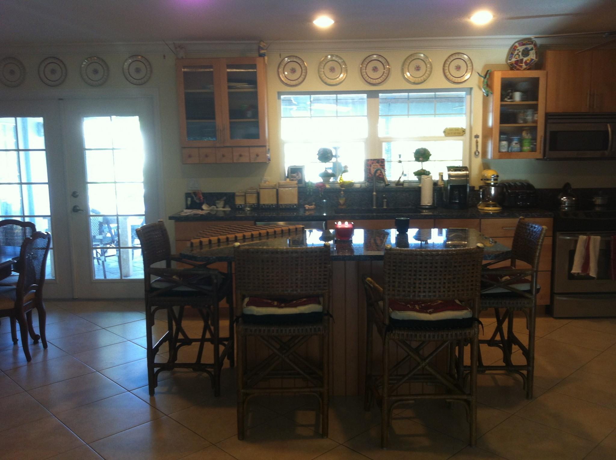 Patty's kitchen before