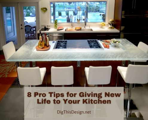 8 Pro Tips for Giving New Life to Your Kitchen
