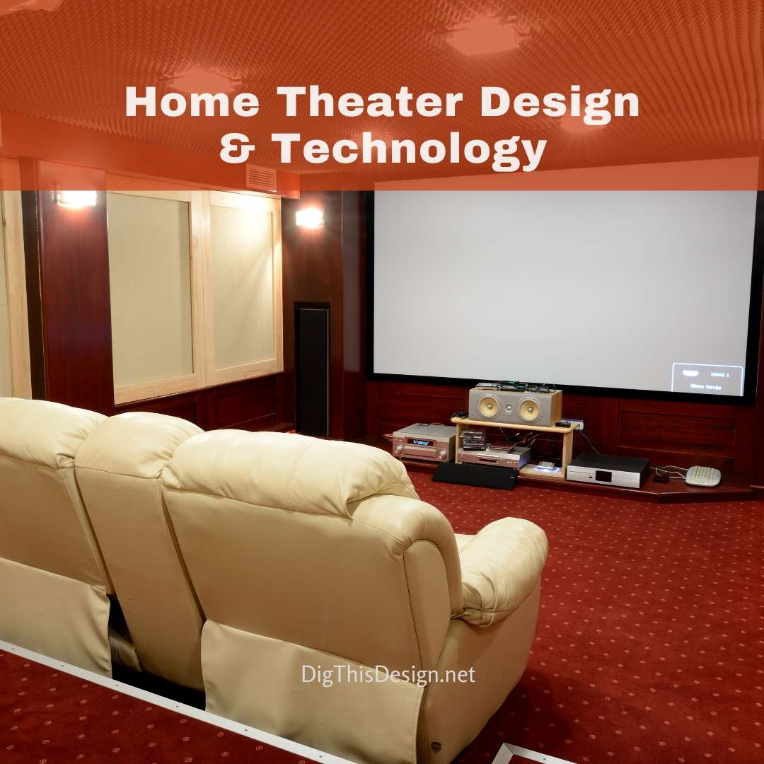 15 Beautiful Home Theater Design Ideas & The Technology To
