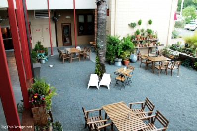 Courtyard at East End Market