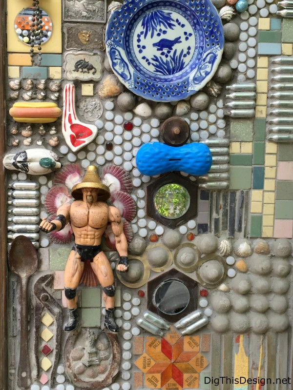 Satchel's nostalgia toys recycled into vintage wall art