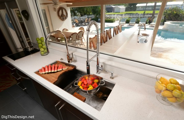 pull down faucet kitchen pdb