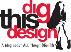 Dig This Design logo, a blog about all things design