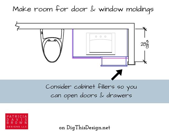 Consider moldings widths