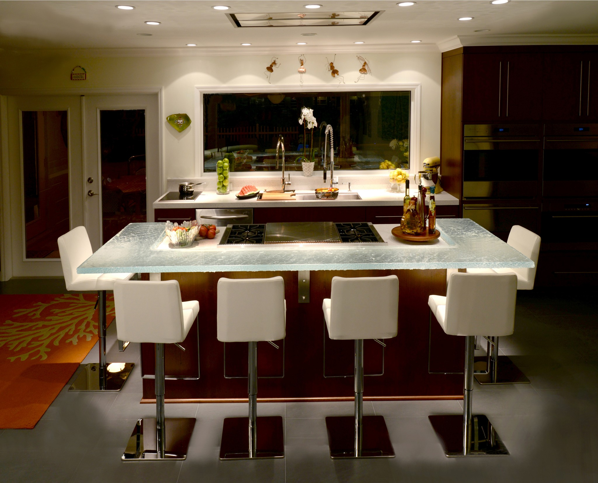 Pdb Designs Soft Contemporary Kitchen Night Dig This Design