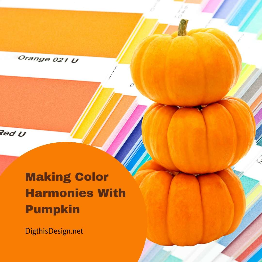 Making Color Harmonies With Pumpkin