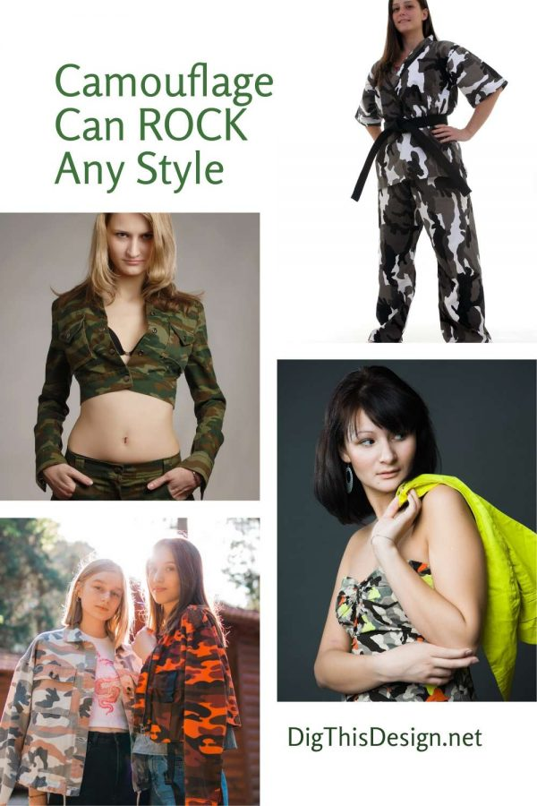 Camouflage Can ROCK Any Style