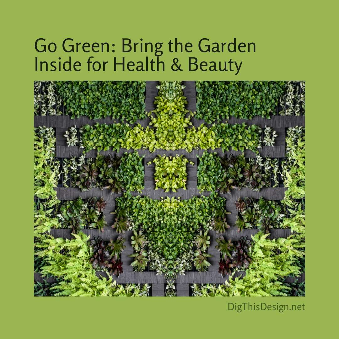 Go Green Bring the Garden Inside for Health and Beauty