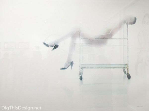 Scope of Art Miami fine art contemporary photography White serie untitled 4 by Benjamin Skinner