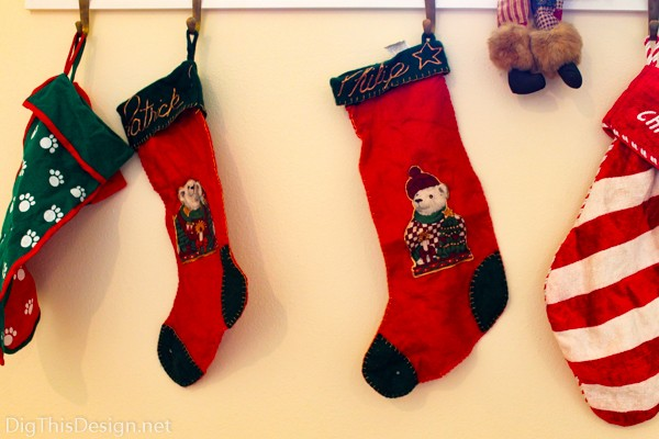 family heirloom Christmas handmade stockings