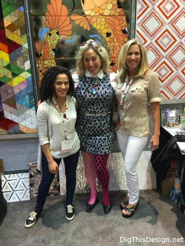 Allison Eden Designs and Dig This Design at Coverings 2015 Orlando Florida