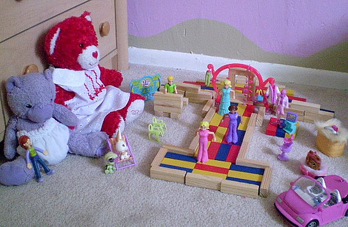 Picture of children's toys.
