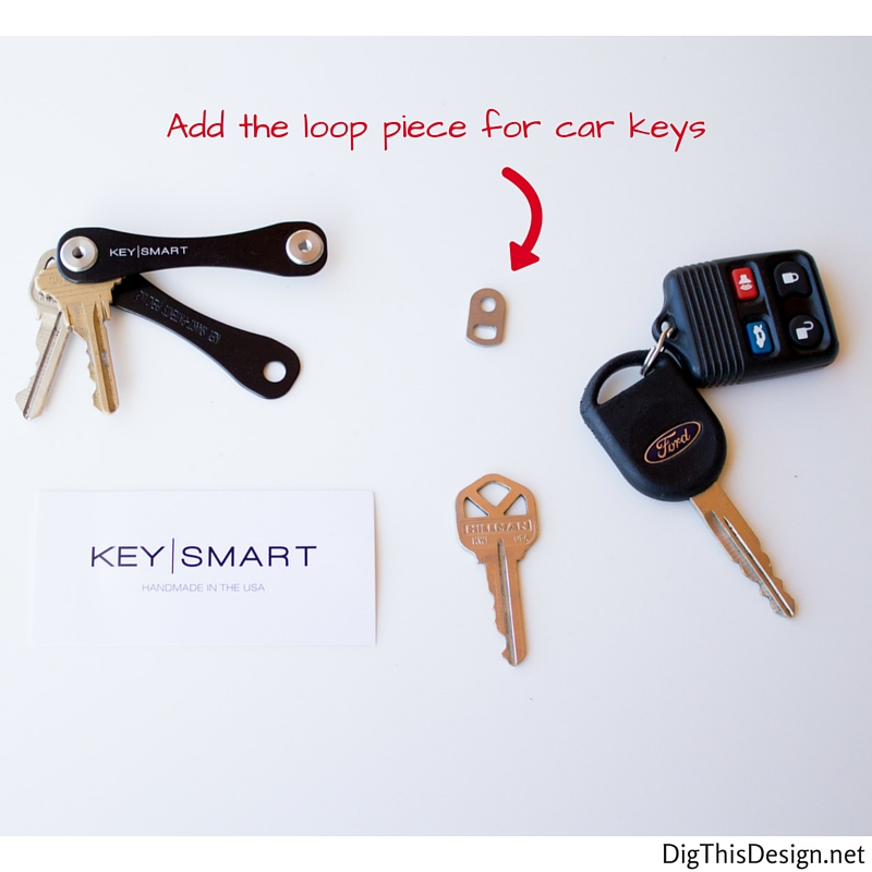 KeySmart review loop accessory for car keys