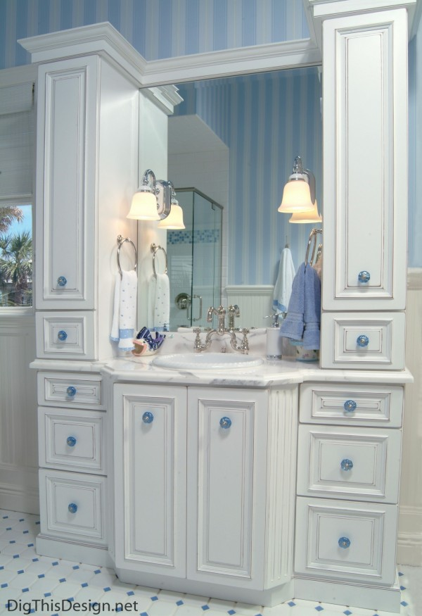 Vanity design by Patricia Davis Brown Designs
