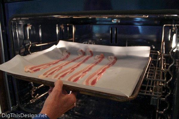 What is the best way to get perfect crispy bacon? Cooking bacon strips in the oven.