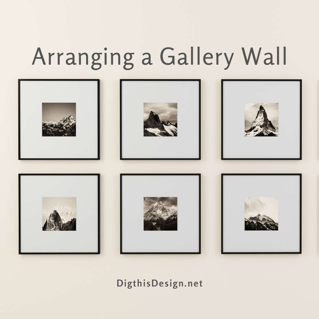 Arranging a Gallery Wall