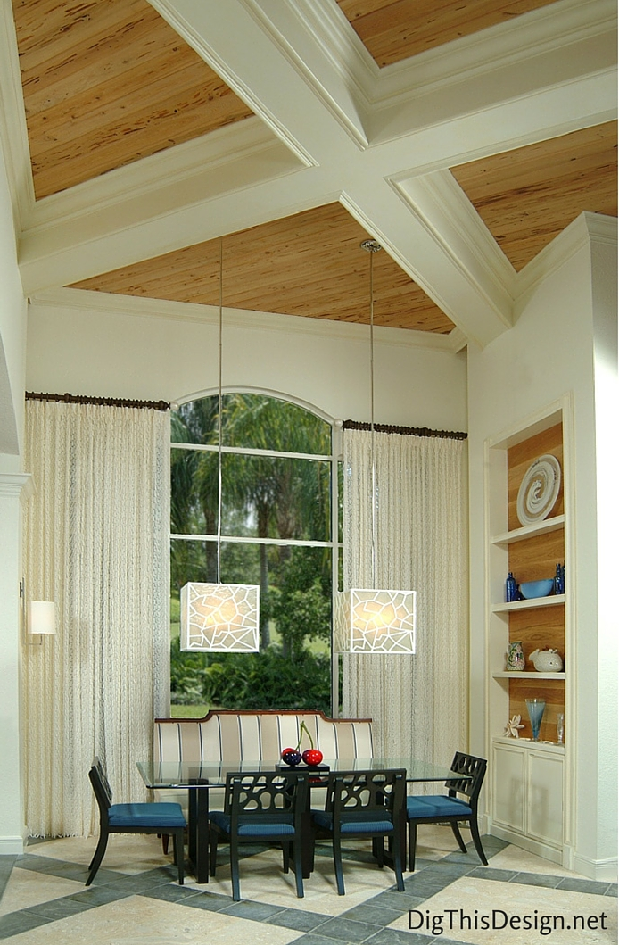 Large decorative lighting by Urban Electric and designer Patricia Davis Brown Designs.